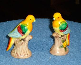 "Circa 1950's – 60's Japanese ""mid-Century"" Porcelain Birds (Set of 2)"