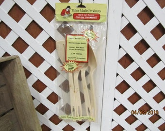 Vintage Tailor Made Nylon Kitchen Cooking Utensils Elroy Wi USA New in Original Package