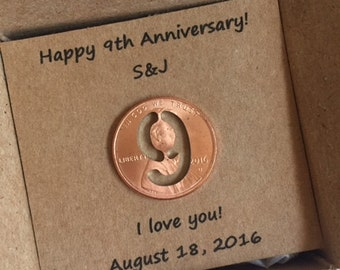 9th Wedding Anniversary Gift Ideas Wife : 9th Anniversary, Happy Anniversary, Anniversary Gift, Nine Year, Lucky ...