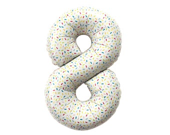 Sprinkle Number Balloon - 16 inch