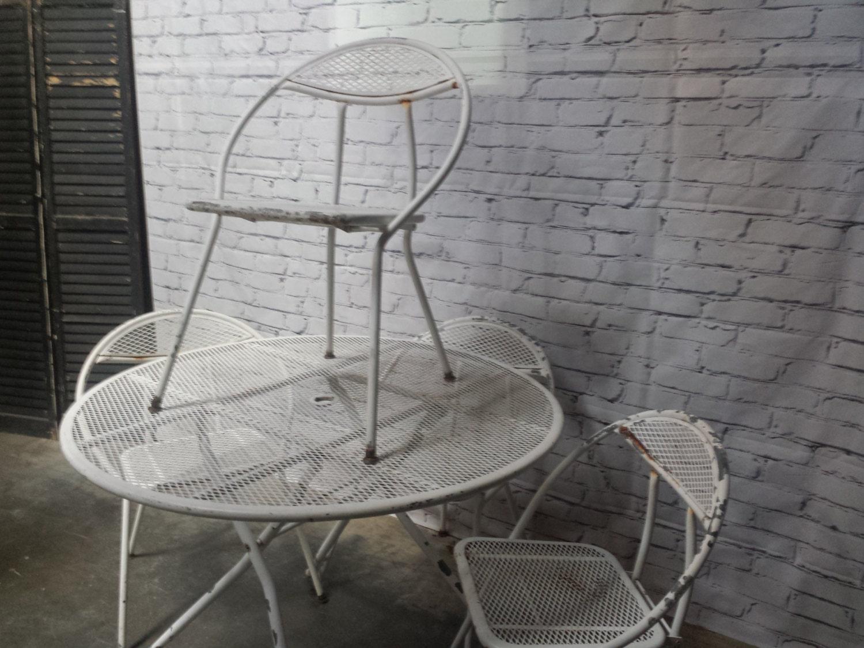 Salterini patio set