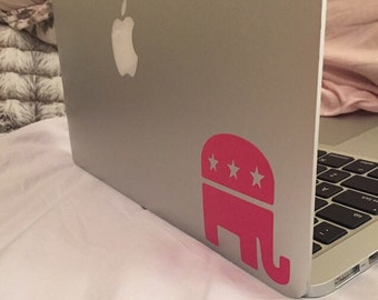 Republican/Democrat Political Party Decal