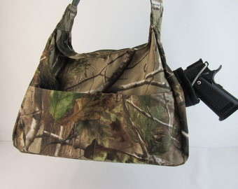 Realtree CAMO Concealed Carry Purse Small