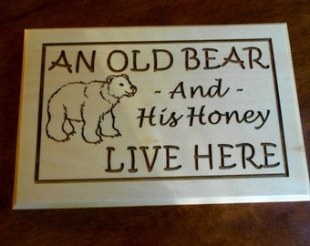 Gone Fishing Sign Carved Wood Sign Rustic Fishing By