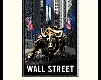 Landmark Series | NY, Wall Street Bull by Mark Herman