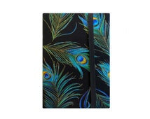 Kindle Voyage Cover, Kindle Cover, Kindle Case, iPad Mini Case, Nook GlowLight, Kindle Fire Cover, Peacock Feathers on Black