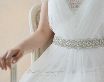 Crystal Bridal Sash/Belt Wedding Dress belt Sash