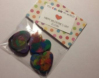 Valentine Crayons (12)