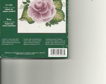 Donny Dewberry:  Rose Cross Stitch Kit