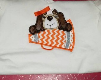Tennessee Vol Cheer Shirt Onesie Name/Age Optional