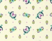 Slow and Steady Fat Quarter Winner's Circle in Blue Raspberry - Tula Pink Chipper
