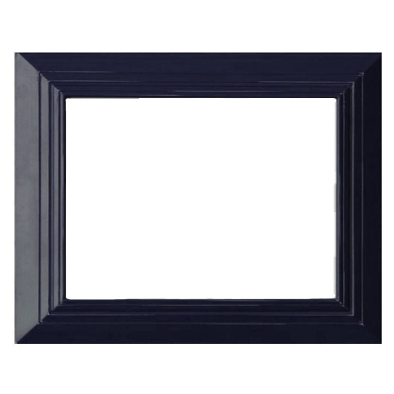 Navy blue frame frame for art hand made frame 16x20 art for 16x20 frame