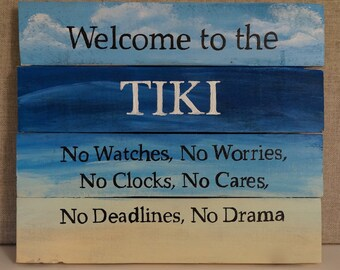 Welcome to the Tiki