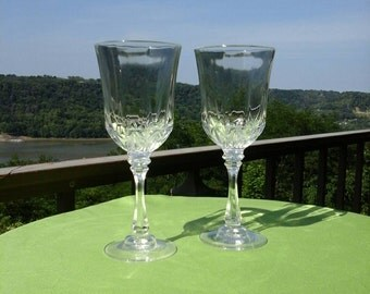 Vintage 1970 S Fostoria Pressed Glass Heart Vase