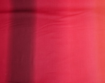 Fabric - Ombre printed cotton fabric - Reds.