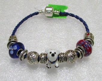 129 - Polar Bear Bracelet
