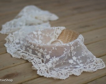 Cream Lace Baby Wrap, Newborn Photography Props, Baby Girl Prop, Lace Wrap, Off White Newborn Wrap, Lace Layer