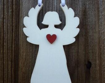Wooden decoration - Angel