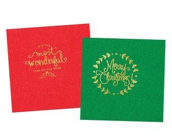 Christmas Napkins (Set of 2)