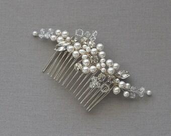 Bridal comb Avril, Bridal Headpiece, Wedding Accessories, Wedding Headpiece
