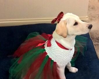 Christmas Tutu for dogs.