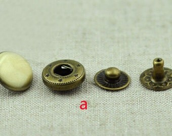 30 sets snap button Snap Fastener