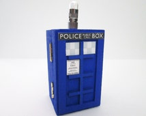 Doctor Who inspired light up Tardis Police trinket / jewelry Box
