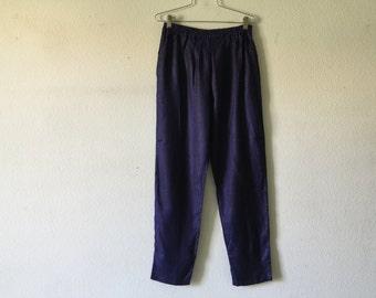 Vintage 80s Elastic Waist Pants
