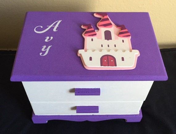 princess castle jewelry box 3