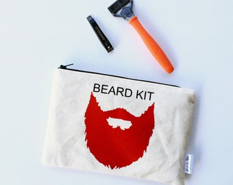 Mens Shaving Kit - Boyfriend Gifts - Beard Shaving Kit - Shaving Kit Bag - Beard Care Kit - Mens Toiletry Bag - Travel Bags for Men