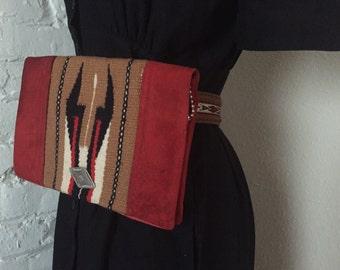 Vintage Chimayo Pouch / Belt Attchament