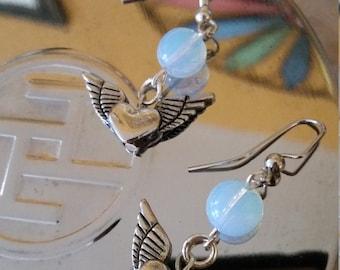Hearts a flutter earrings