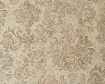 Grunge Damask Wall Photography Backdrop, Baby Children Newborn photo background for Birthday Party photoshoots, Chic Damask Photodrop D-9029