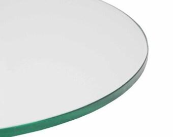 5 inch round glass insert