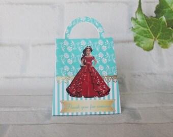 Elena of Avalor favor bags , Elena of Avalor party, Elena of Avalor inspired party. Set of 12