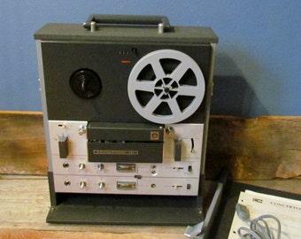 Vintage 1960's Concertone Stereo/Tape Recorder