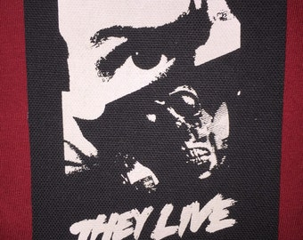 They Live Cloth Punk Patch