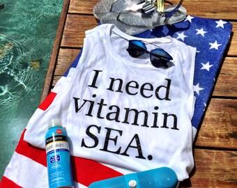 I Need Vitamin Sea Vacation Tank