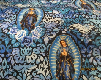 Our Lady of Guadalupe in blue from Kanvas