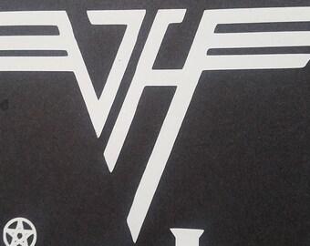 Van Halen Vinyl Sticker