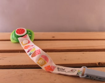 Pacifier holder - Cupcakes