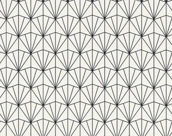 Modern Geometric Fan Wallpaper R4396