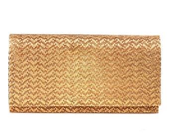 Vintage Hardcase 18K Gold Evening Clutch