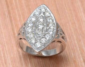 Marquis Diamond Ring