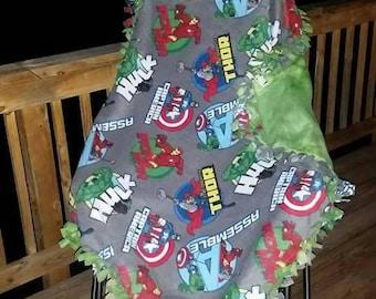 Avengers Assemble blanket