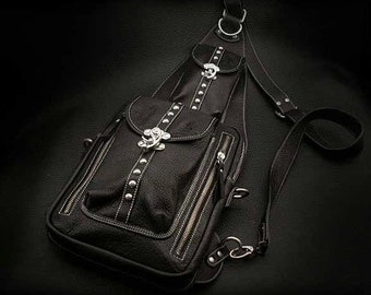 Leather Backpack, iPad Case K05C09