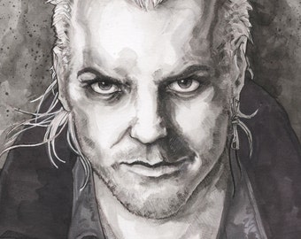 David The Lost Boys Poster Print Chris Oz Fulton