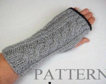 fingerless gloves pattern, texting gloves pattern