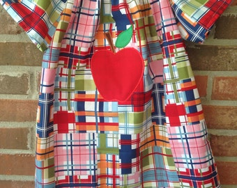 Madras Apple Dress