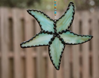 Stained Glass Starfish